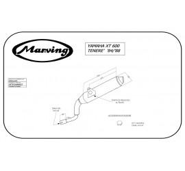 Marving EDR/11/NC Yamaha XT 600 Tenerè