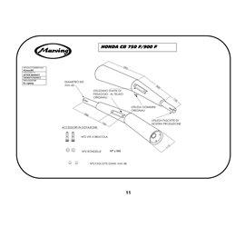 Marving H/2001/BC Honda CB 750 F/F II