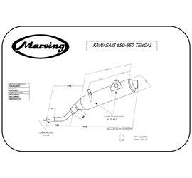 Marving K/AAA/48/BC Kawasaki Klr 650 Tengai