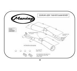 Marving S/2007/BC Suzuki Gsx 750