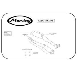 Marving S/2022/BC Suzuki Gsx 550 Ef