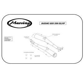 Marving S/2022/NC Suzuki Gsx 550 Ef