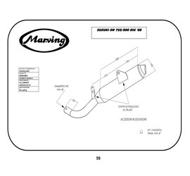 Marving S/AAA/31/BC Suzuki Dr 750