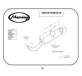 Marving S/AAA/31/BC Suzuki Dr 800 Big