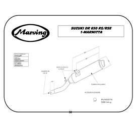 Marving S/AAA/49/BC Suzuki Dr 650 Rs